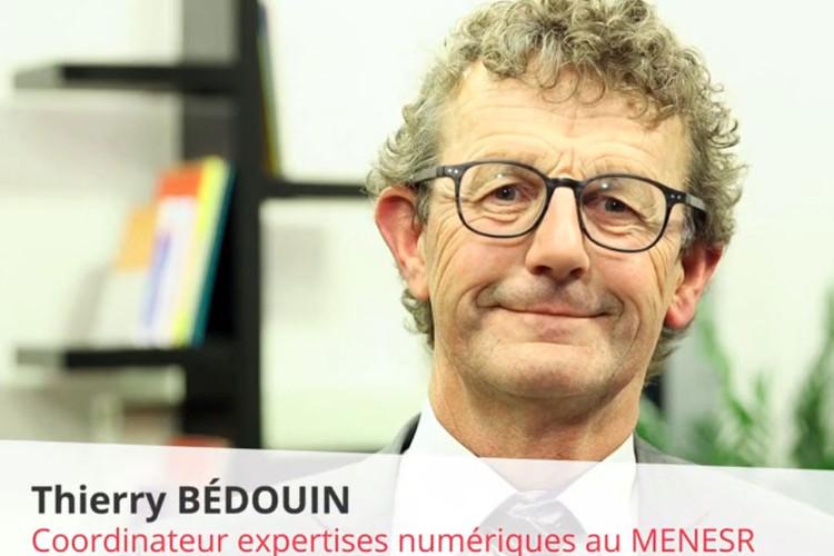 Thierry Bédouin, en charge de la coordination des expertises numériques dans le cadre de la démarche de contractualisation menée par le ministère de l'éducation nationale et de l'enseignement supérieur