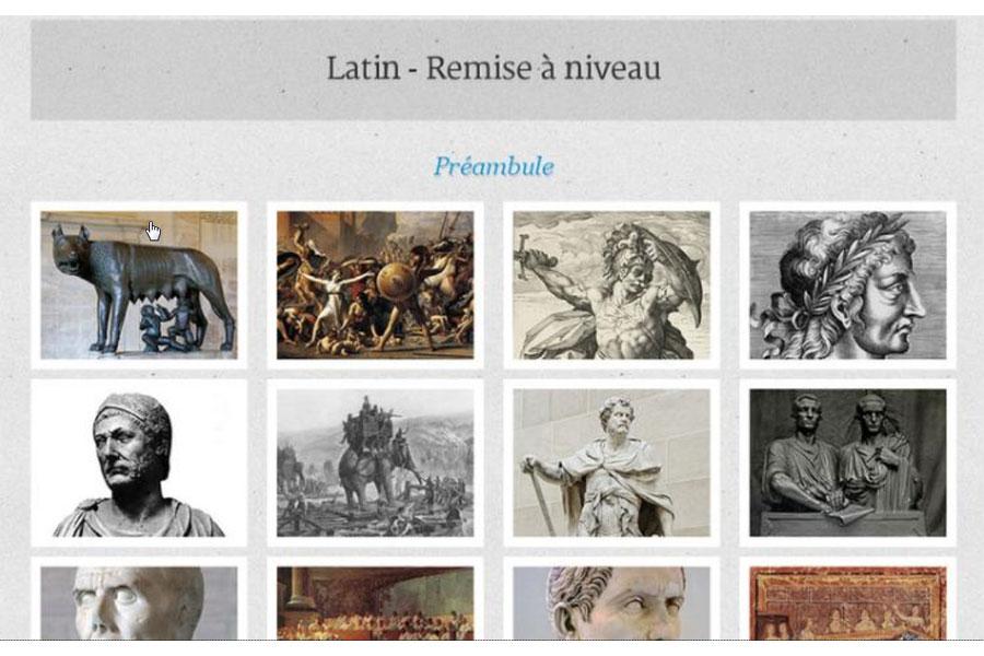 Latin - Remise à niveau