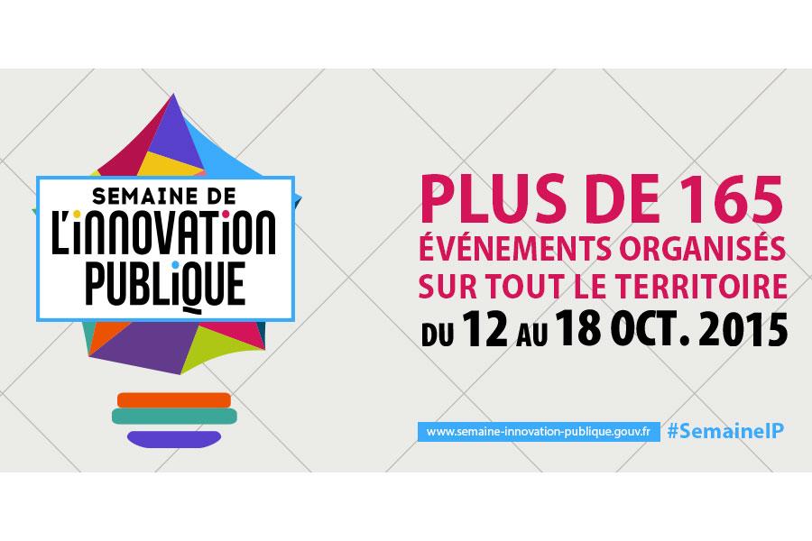 Du 12 au 18 octobre, participez à la Semaine de l'innovation publique !