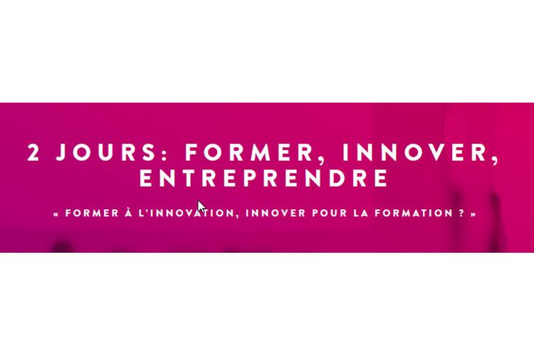 Conférence Former à l'innovation, innover pour la formation