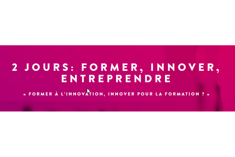 Conférence Former à l'innovation, innover pour la formation ?