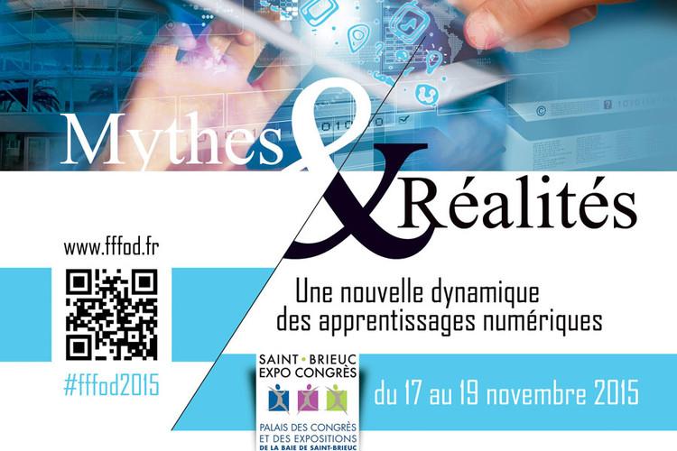 Du 17 au 19 novembre 2015 : 13èmes Rencontres du Forum français pour la formation ouverte et à distance à Saint-Brieuc