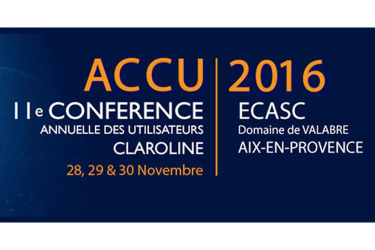 Conférence ACCU 2016
