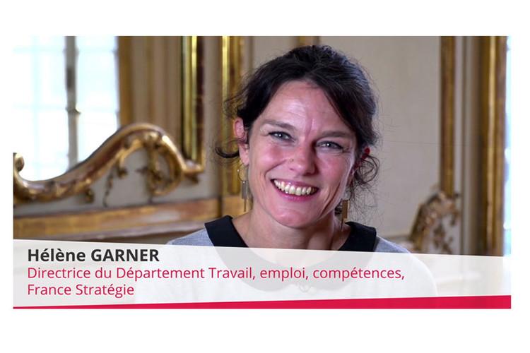 Hélène Garner, Directrice du Département travail emploi compétences de France Stratégie