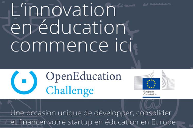 OpenEducation Challenge : Développer, consolider et financer votre start-upen éducation en Europe