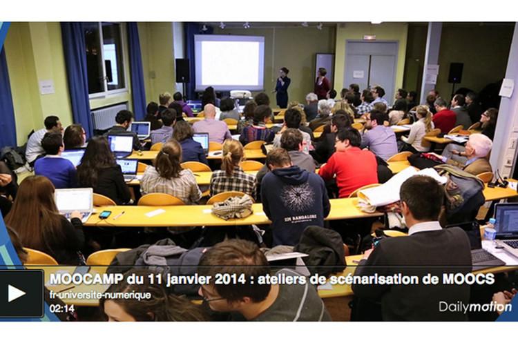 11 janvier 2014 MOOCAMP : organisez et animez des MOOCathons grâce à des ateliers de création de scénarios de MOOCs