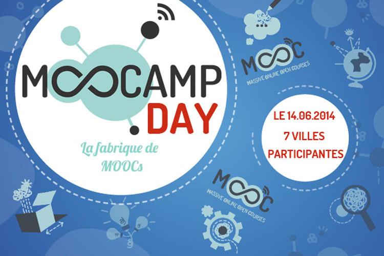 14 juin 2014, MOOCAMP DAY : la fabrique de MOOCs ; 7 villes participantes