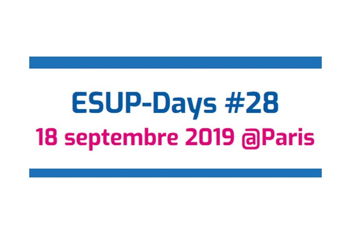 Journée ESUP-Days #28 - mercredi 18 septembre à Paris