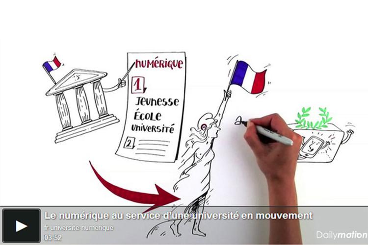 Le numérique au service de la réussite des étudiants, de la démocratisation et du rayonnement de l'enseignement supérieur français