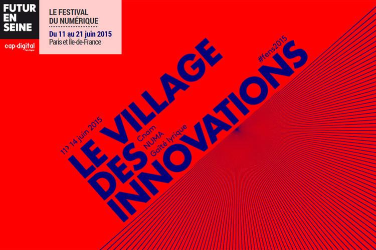 Du 11 au 14 juin, Futur en Seine : savoirs partagés au Village des innovations