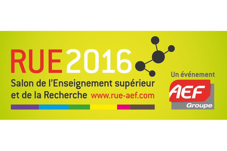 RUE 2016 - Salon professionnel de l'Enseignement Supérieur et de la Recherche