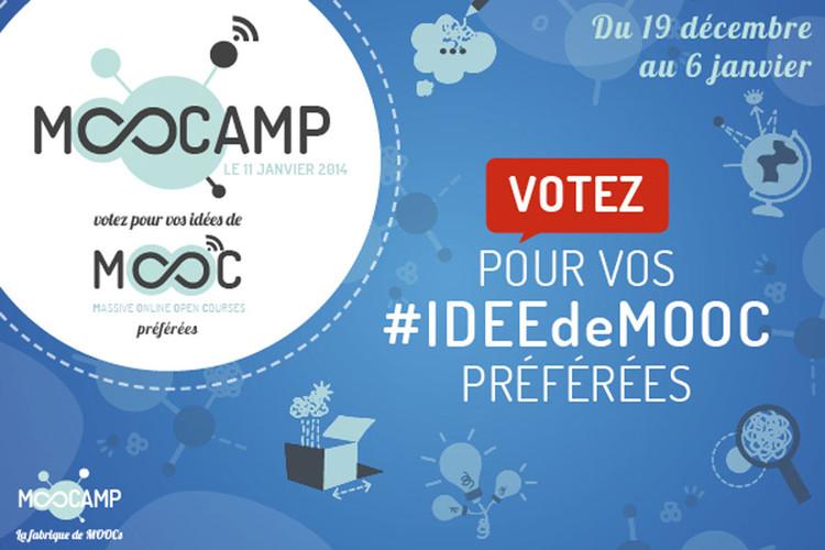 Votez pour vos #ideedeMOOC préférées