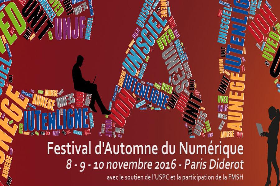 Le Festival d'Automne du Numérique