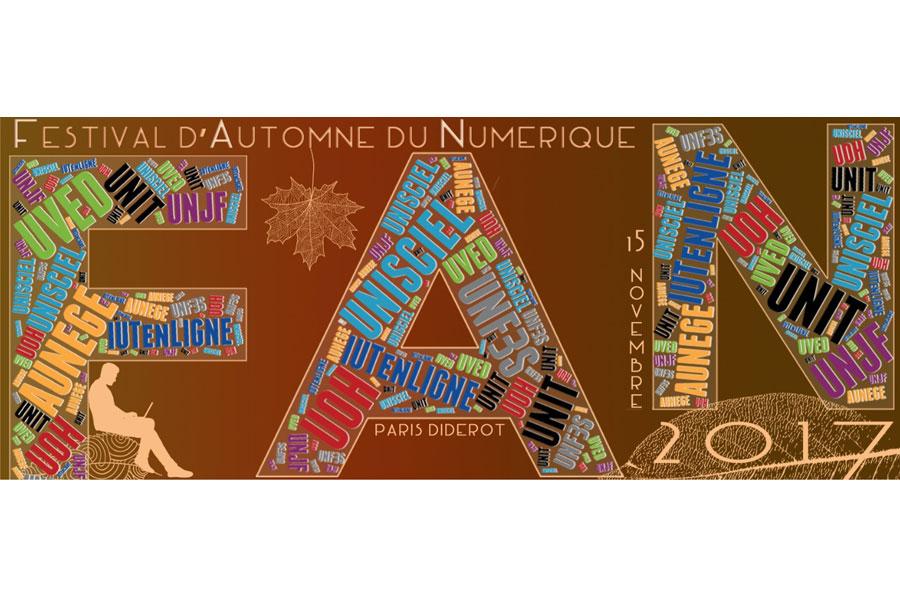 Festival d'Automne du Numérique 2017
