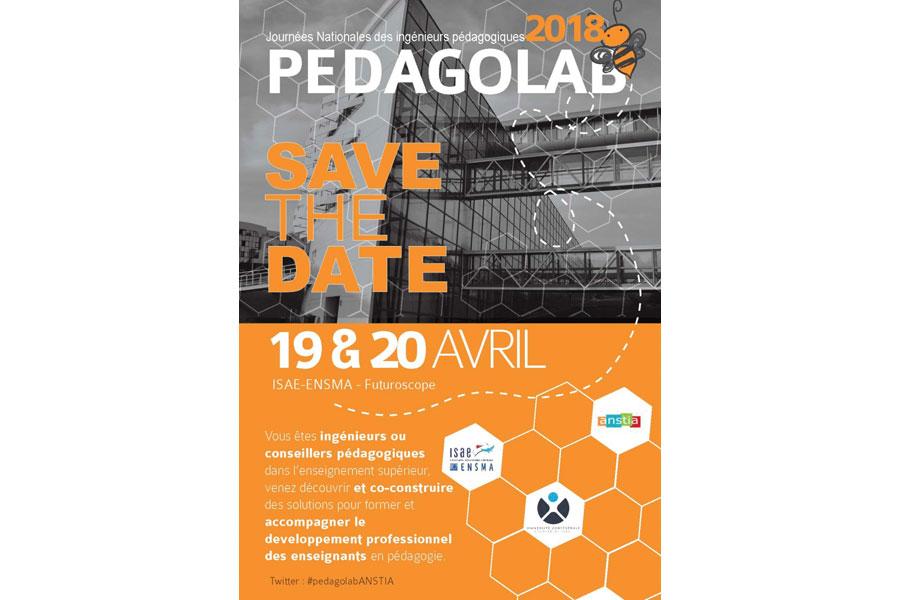 Participez au PedagoLab 2018 à Poitiers !