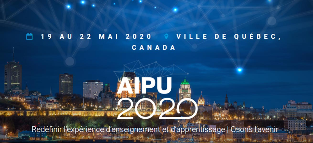 Annulation du congrès 2020 de l'Association internationale de pédagogie...