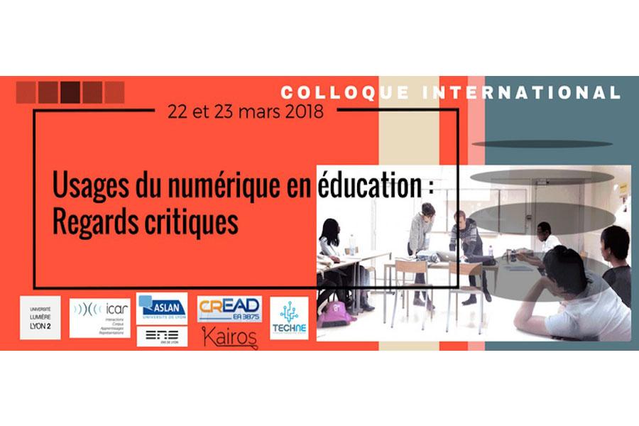 usages du numérique en éducation : regards critiques