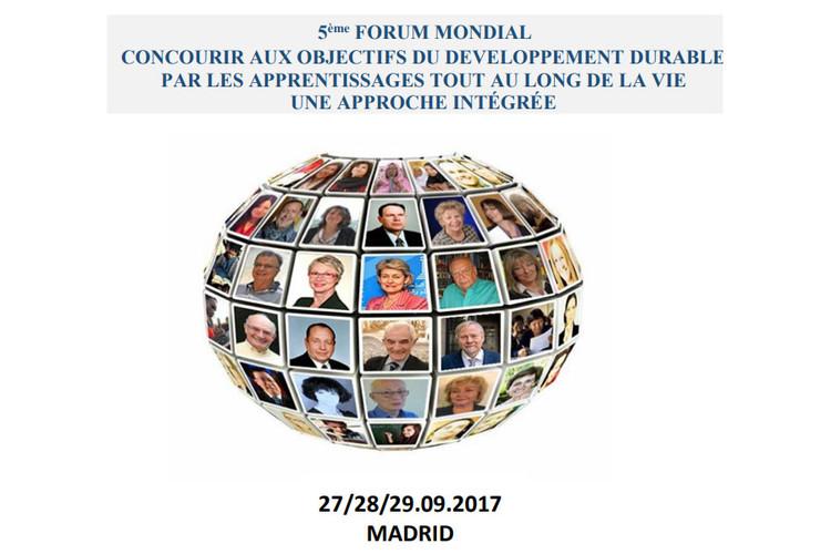5ème Forum mondial des apprentissages tout au long de la vie