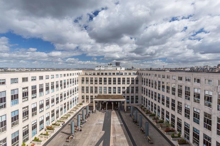 Cour intérieure de l'Université Paris-Dauphine