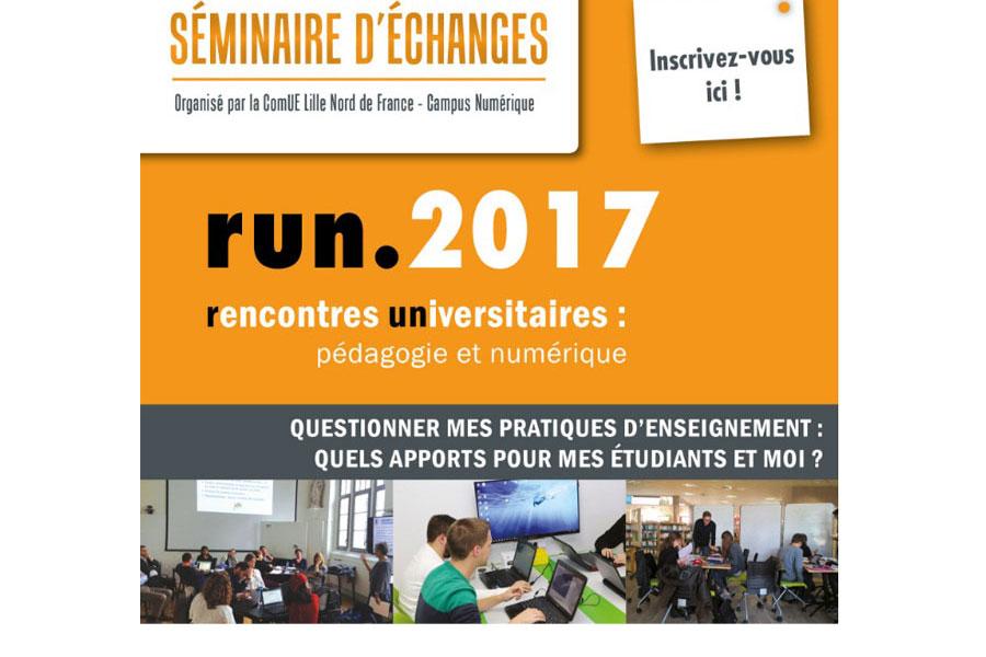 Rencontres Universitaires pédagogie et numérique 2017