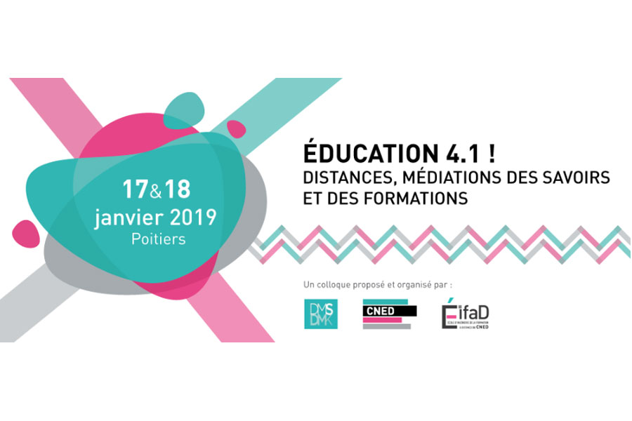 Colloque international Éducation 4.1 !