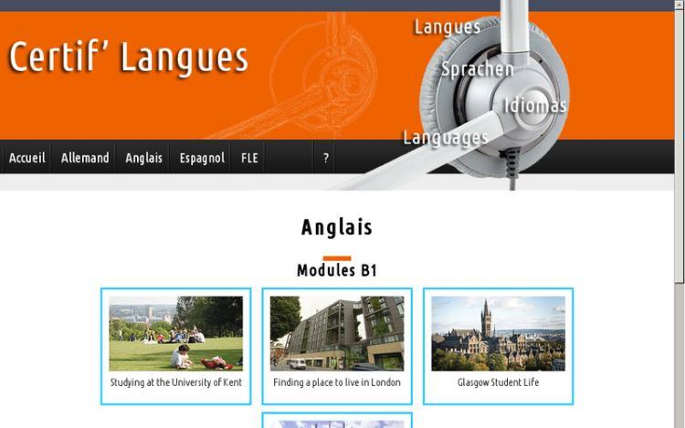 Évaluer mon anglais à l'écrit et à l'oral avec Certif'langues