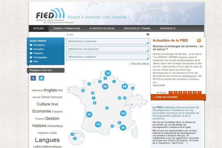 Fédération Interuniversitaire de l'Enseignement à Distance (FIED)