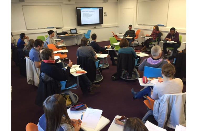 Classe laboratoire à l'ESPE Franche-Comté