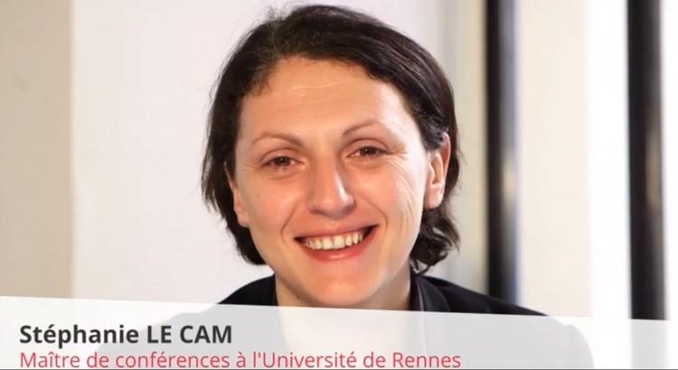 Stéphanie Le Cam, maitre de conférences à l'Université de Rennes 2