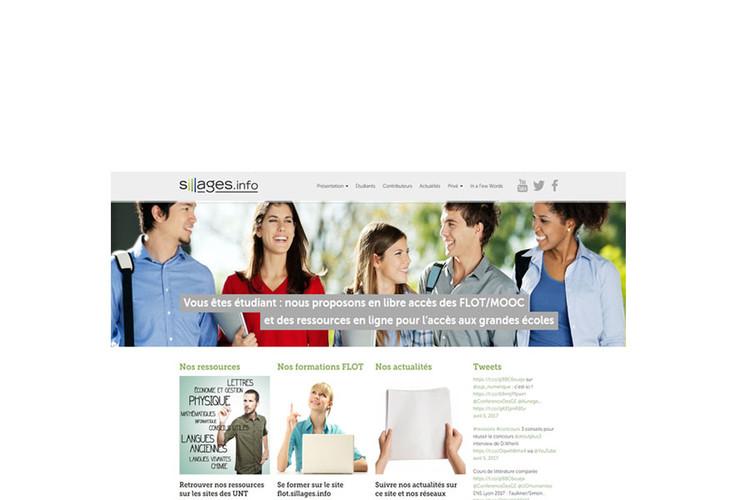 Sillages : ressources pour l'ouverture sociale et internationale de l'accès aux grandes écoles