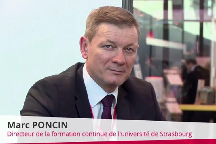 Marc Poncin, directeur du service formation continue