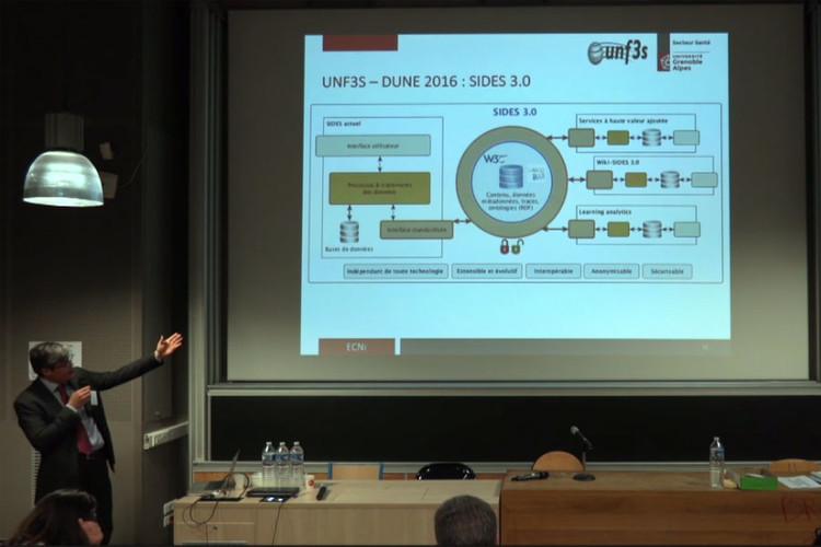 Plateforme Système Informatique Distribué d'Évaluation en Santé (SIDES)