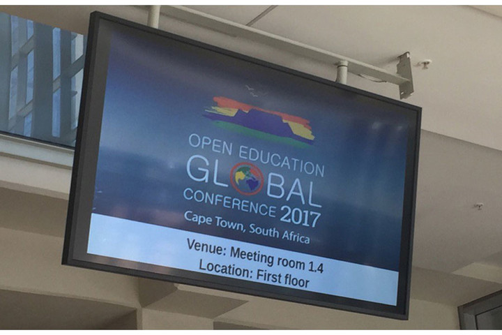 Conférence Open Education Global 2017