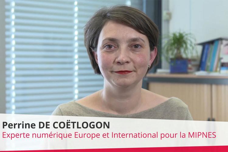 Perrine de Coëtlogon, expert numérique Europe et International pour la MIPNES