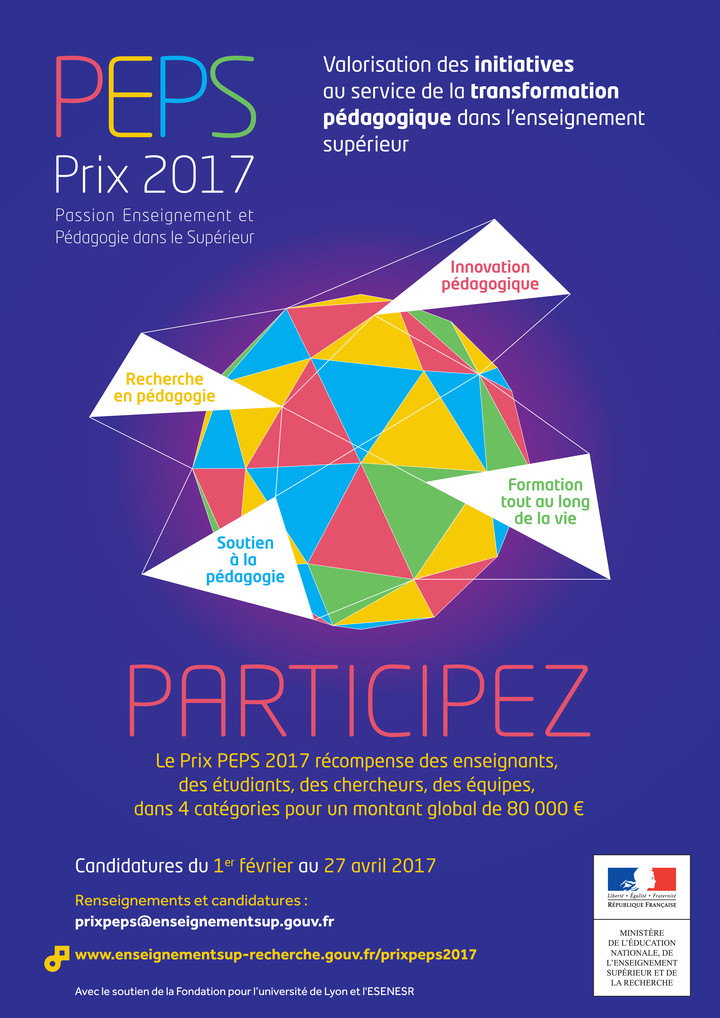 Affiche - Prix PEPS 2017 (format jpg)