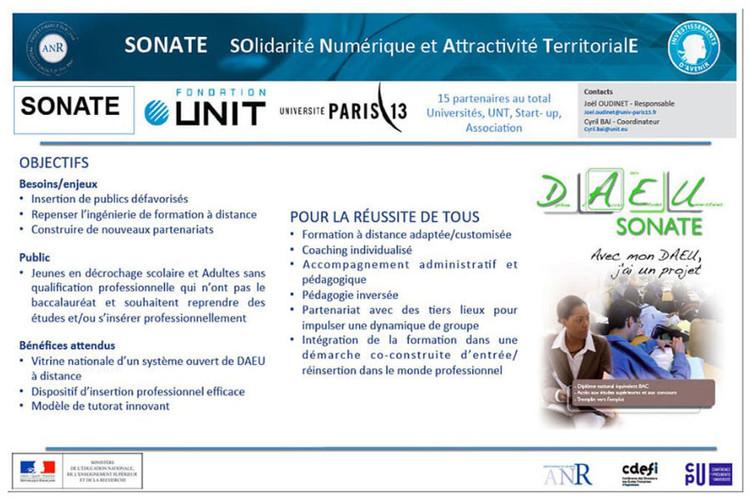 IDEFI-N SONATE : Solidarité Numérique et Attractivité Territoriale