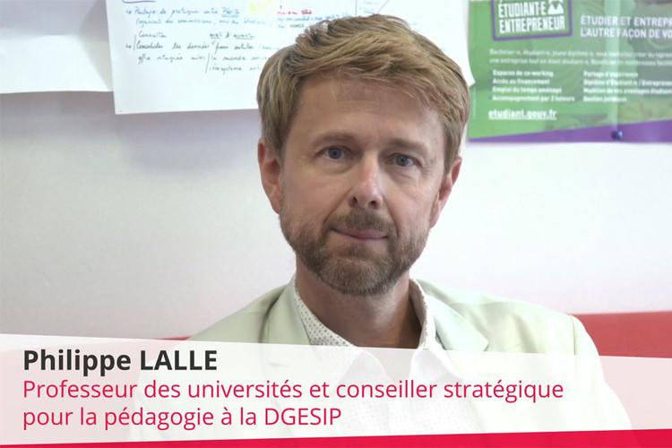 Philippe Lalle, Conseiller stratégique pour la pédagogie à la Direction Générale de l'Enseignement Supérieur et de l'Insertion Professionnelle