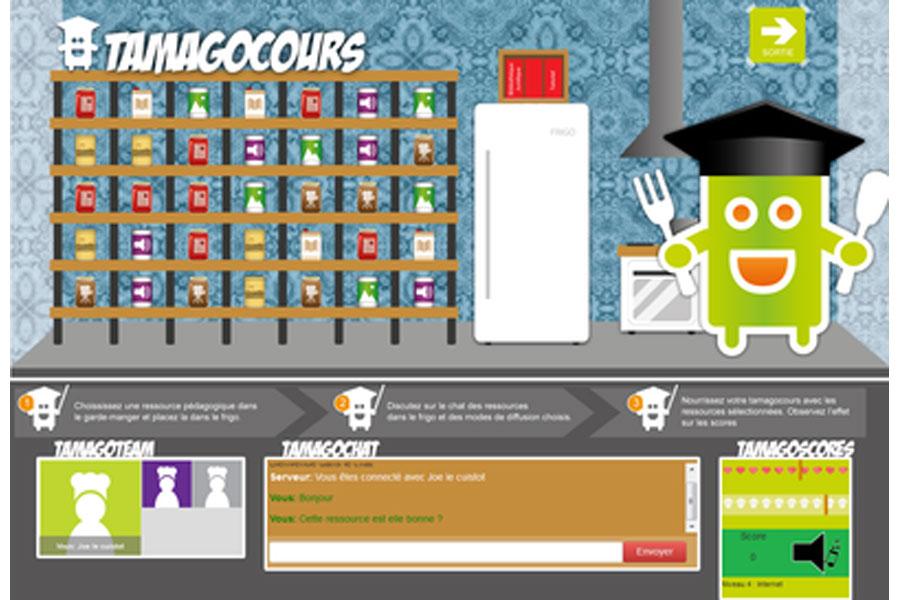 Tamagocours : un jeu sérieux pour le C.2.i.2.e.
