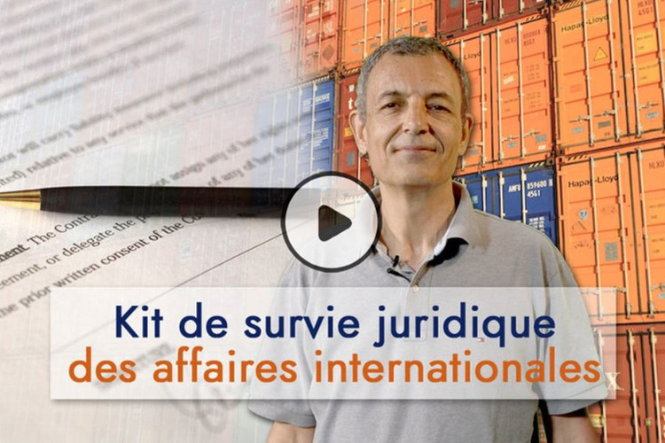 MOOC Kit de survie juridique des affaires internationales