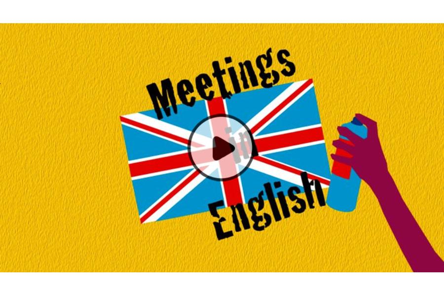 MOOC Conduite de réunion en anglais