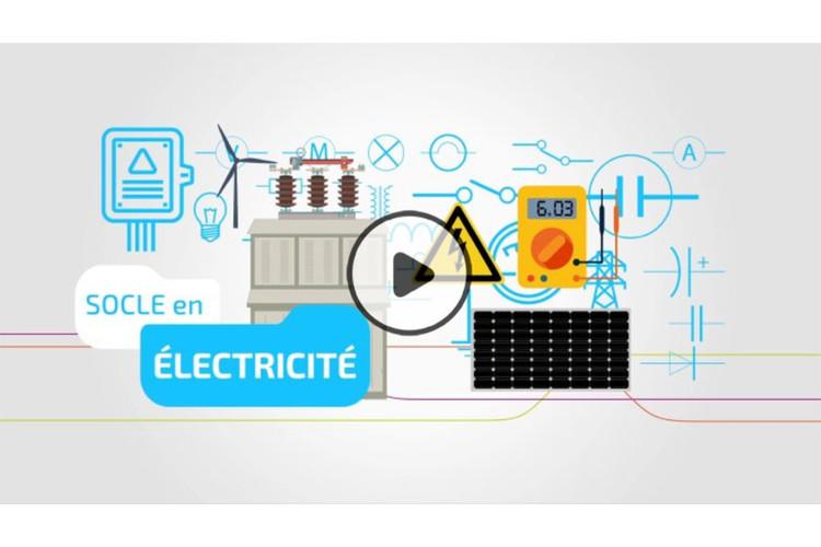 MOOC Socle en électricité
