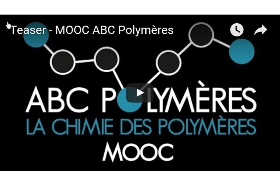 MOOC A.B.C. Polymères, la chimie des polymères