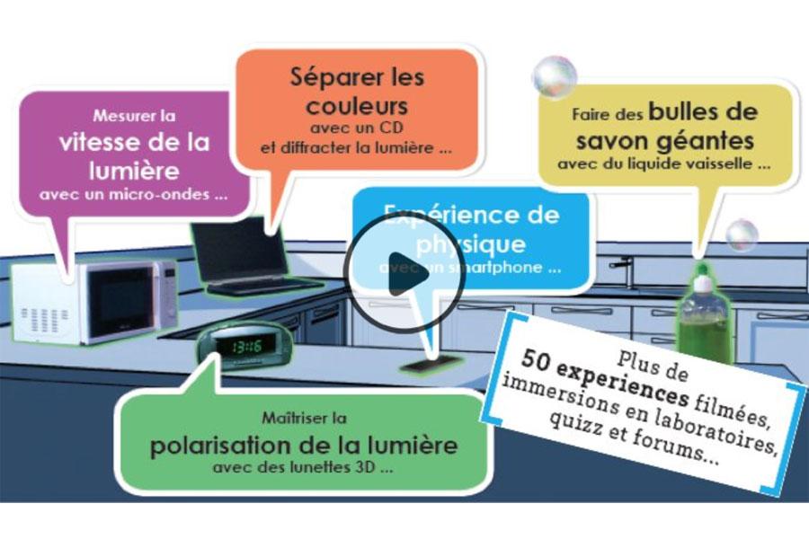 MOOC Physique des objets du quotidien : du four à micro-ondes au smartphone