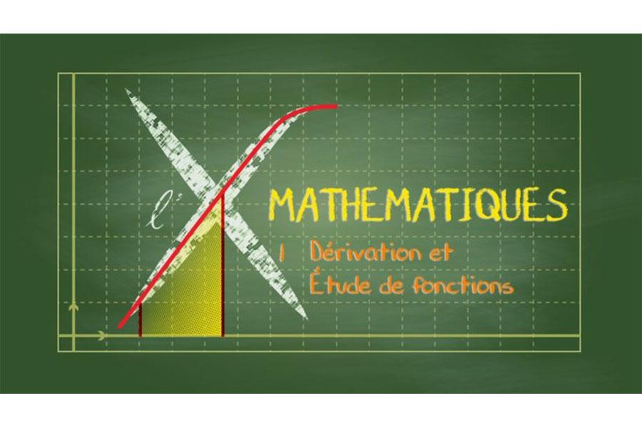 MOOC Collection Mathématiques : 1 - Dérivation et étude de fonctions