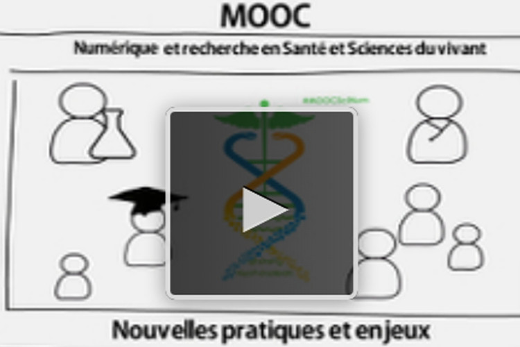 MOOC Numérique et recherche en santé et sciences du vivant