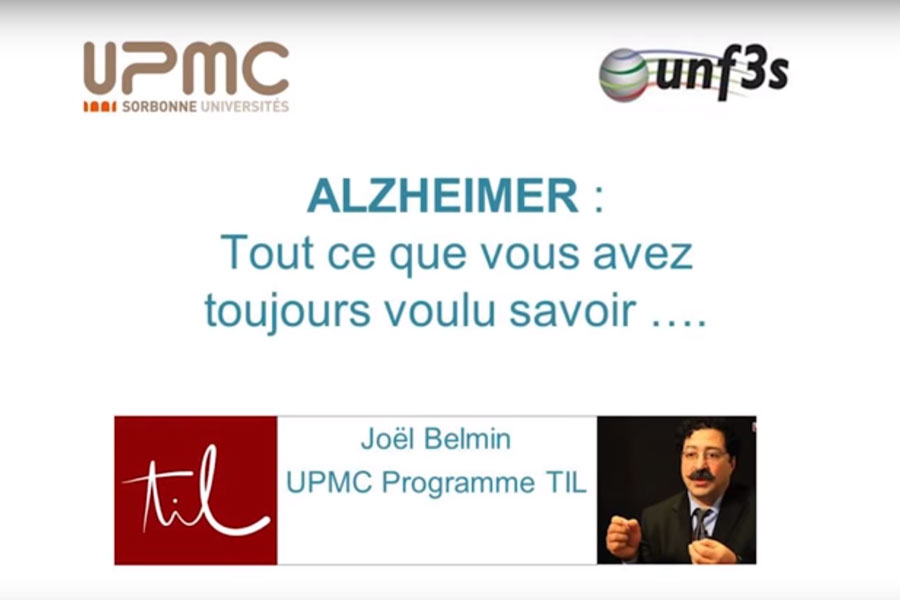 MOOC La maladie d'Alzheimer