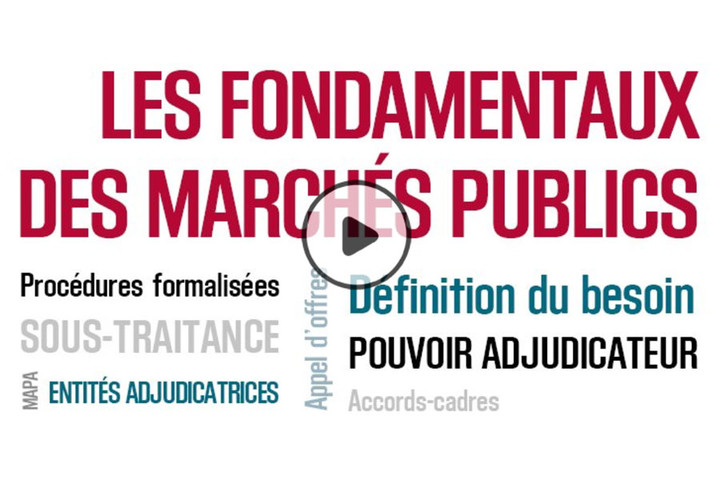 MOOC Les fondamentaux des marchés publics