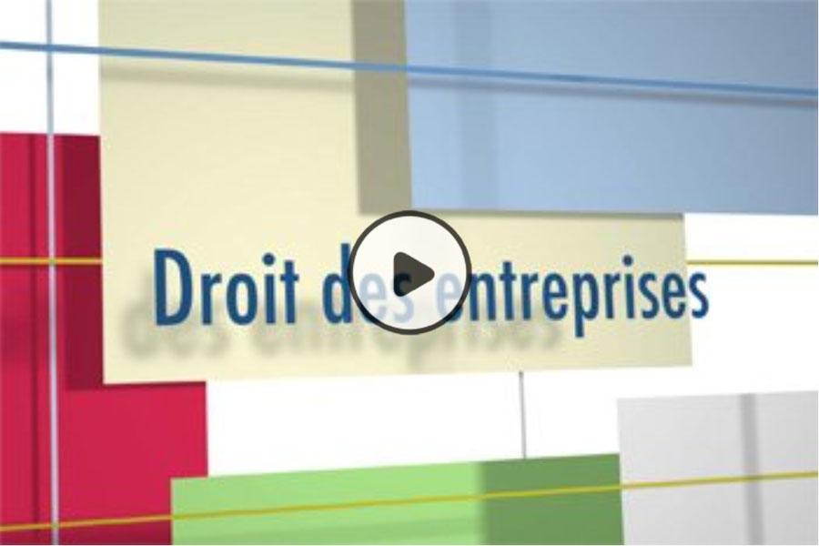 MOOC Droit des entreprises