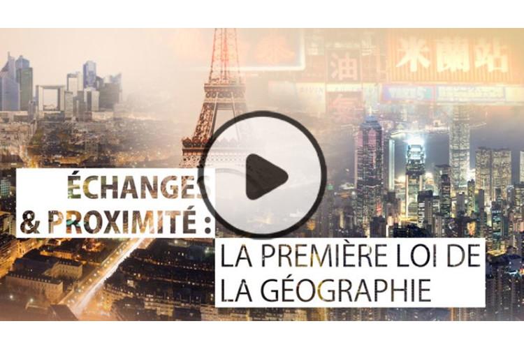 MOOC Échanges et proximité : la première loi de la géographie