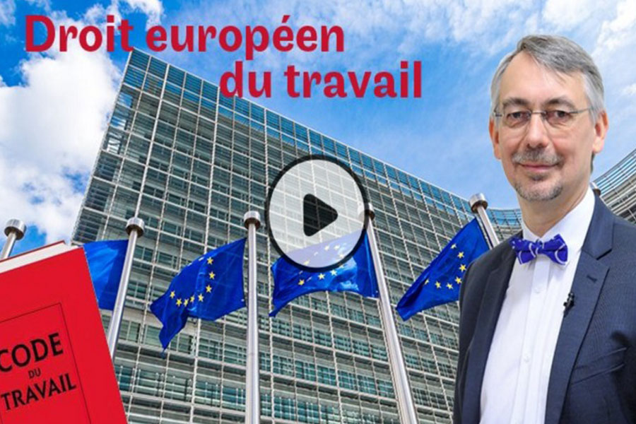 MOOC Droit européen du travail
